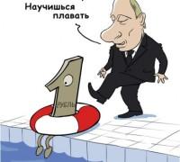 рубль плавает