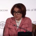 Пресс-конференция главы Банка России Э.Набиулллиной