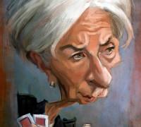 Caricatura-de-Christine-Lagarde